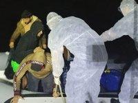 Muğla'da 12 düzensiz göçmen kurtarıldı