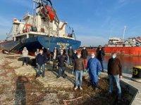 'Sultan Bey' gemisinin mürettebatının üç aylık çilesi bitti