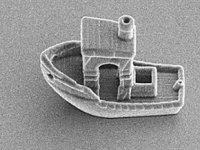 3D yazıcı kullanılarak dünyanın en küçük teknesi üretildi