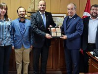ODEMED Yönetimi, YTÜ Denizcilik Fakültesi Dekanı Prof. Dr. Hüseyin Yılmaz'ı ziyaret etti