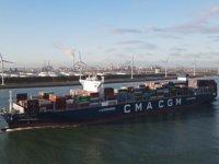 CMA CGM, konteyner gemileri için LNG ikmaline başladı
