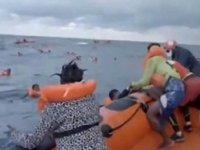 Libya'da göçmenleri taşıyan tekne battı: 74 ölü