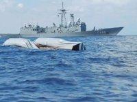 Türkiye, Libya'da batan göçmen teknesi için arama-kurtarma çalışmalarına katıldı