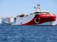 Oruç Reis sismik araştırma gemisinin görev süresi 29 Kasım'a kadar uzatıldı