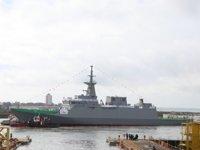 Suudi Arabistan Donanması'nın yeni korveti Al Diriyah, suya indirildi