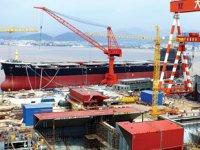 Çin'in gemi üretimi Ocak-Ekim döneminde yüzde 3,6 düştü