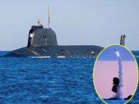 Rus denizaltısı, Kalibr füzesiyle bin kilometre ötedeki hedefi vurdu