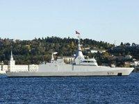 Mısır savaş gemisi, İstanbul Boğazı'ndan geçti