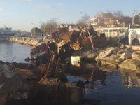 Batık gemi Pasha, 7 yıl sonra denizden çıkarıldı