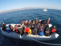 Çanakkale'de 2 günde 80 düzensiz göçmen kurtarıldı