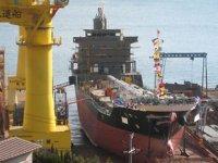 Japonya'ya verilen gemi siparişleri Ekim ayında düşüş gösterdi