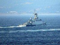 Rus savaş gemisi 'Inghusheita', Çanakkale Boğazı'ndan geçti