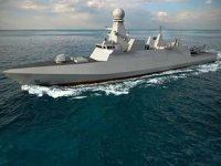 Katar'ın yeni hava savunma korveti deniz denemelerine başladı