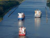 Kiel Kanalı'nda gemi geçiş ücretleri askıya alındı