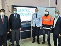 Yalova Liman Başkanlığı ve Beşiktaş Tersanesi'nden eğitime destek geldi