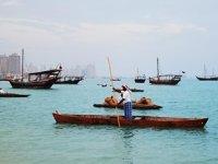 Katar'da Geleneksel Ahşap Tekne Festivali, geçmiş zamanda yolculuğa çıkarıyor