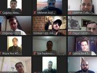 TÜDEVMED ile öğrenciler, online etkinlikte bir araya geldiler