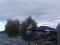 Doğu Akdeniz'de 'Fiili Silah Atış Eğitimleri' gerçekleştirildi