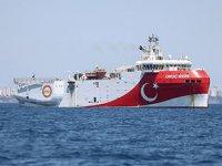 Oruç Reis sismik araştırma gemisinin Doğu Akdeniz'deki görev süresi uzatıldı