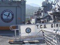 TCG Giresun Fırkateyni 182 günlük görevi başarıyla tamamladı