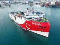 Oruç Reis sismik araştırma gemisi, Antalya Limanı'ndan ayrıldı