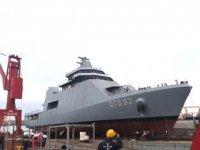 ADİK'in Katar'a inşa ettiği 'Askeri Eğitim Gemisi'nin ikincisi de denize indirildi
