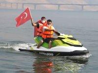 Hasankeyf, su turizmi ile canlanıyor