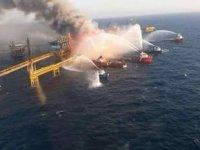 Meksika'da su altı boru hattında patlama meydana geldi