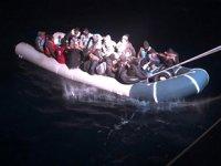 34 düzensiz göçmen, Sahil Güvenlik tarafından kurtarıldı