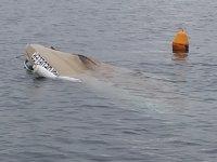 Armutlu'da fırtınaya dayanamayan tekne battı