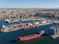Çelebi Bandırma Limanı'nın iş hacmi 4,4 milyon ton olarak gerçekleşti