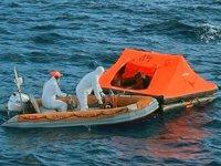Marmaris'te ölüme terk edilen göçmenler kurtarıldı