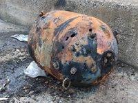 Sinop'ta balıkçıların ağına deniz mayını takıldı