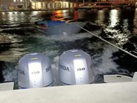 Kocaeli'de 1 kişi tekne ile midye avlarken yakalandı
