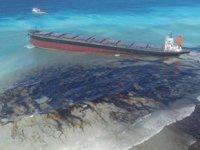 Morityus'taki faciada denize sızan petrol temizlendi