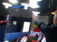 İlkadım'da balıkçılara 'mor ışık' hilesi denetimi yapıldı