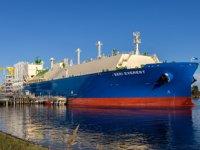 Dünyanın en büyük etan taşıyıcı tankeri ABD'den Çin'e yola çıktı