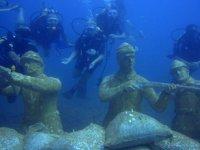 Side Su altı Müzesi'ni 6 yılda 70 bin kişi ziyaret etti