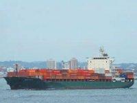 Gine Körfezi'nde saldırıya uğrayan M/V Mozart isimli konteyner gemisi, Gabon Port- Gentil Limanı'na gidiyor
