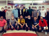 M/V Mozart gemisi için 22 kişilik destek ekibi Gabon'a ulaştı