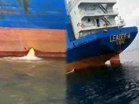 KKTC, Akdeniz'i kirleten gemiye 25 bin lira ceza kesti