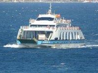 Gökçeada ve Bozcaada'ya feribot seferleri iptal edildi