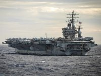 ABD Donanması, Güney Çin Denizi'nde tatbikat gerçekleştirdi