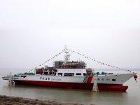 Haixun 06 gemisi, Taiwan Boğazı'nda göreve başladı