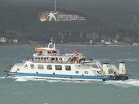 Bozcaada ve Gökçeada'ya feribot seferleri iptal edildi