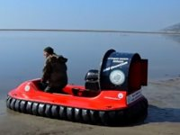 Milli Park'ın uçan teknesi görücüye çıktı