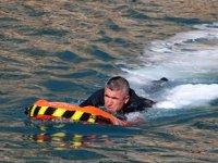 Deniz polisi, elektronik can kurtarma simidi ile hayat kurtaracak