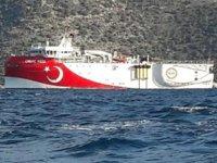 Oruç Reis sismik araştırma gemisi, Demre açıklarına demirledi