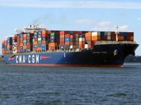 CMA CGM Titus konteyner gemisi, Süveyş Kanalı'nda karaya oturdu