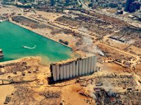 Beyrut Limanı'nda onarım çalışmaları yavaş ilerliyor